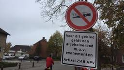 Alcohol is verboden op het Raadhuisplein in Sprang-Capelle