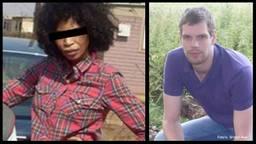De verdachte en het slachtoffer Mark van Dongen.