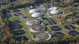 Een waterzuiveringsinstallatie van Waterschap De Dommel. Foto: Waterschap De Dommel