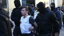 Burak A. na arrestatie. (Foto: EPA)