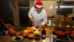 Zonder stress aan de kerstdis. Het kan met deze recepten van Peter Kessler. (foto: Karin Kamp)