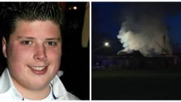 Robbert Roy verrichtte een heldendaad bij een brand in een boerderij (foto links: gemeente Sint-Michielsgestel)