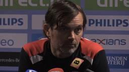 Phillip Cocu heeft met PSV wél de kerst gehaald