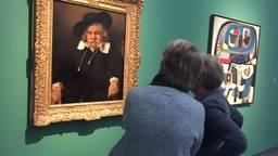 Rembrandt en Appel, de toppers in 'Topstukken on tour' (foto: Tonnie Vossen)