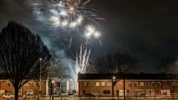 Vuurwerk in Tilburg. (Foto: Jack Brekelmans/Persburo BMS)