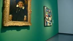 De schilderijen van Rembrandt van Rijn en Karel en Appel zijn het hoogtepunt van de tentoonstelling