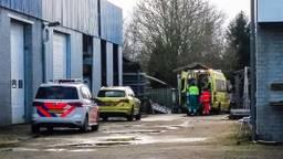 In Venhorst raakte een man ernstig gewond na een val (foto: Danny van Schijndel / 112nieuwsonline