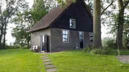 Het vakantiehuisje in Hooge Zwaluwe waar de moord in 2015 plaatsvond (Foto: archief).