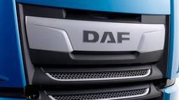 Het logo van de New DAF XF