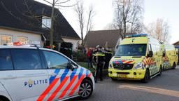 De twee gewonden zijn naar het ziekenhuis gebracht. (Foto: SK Media)