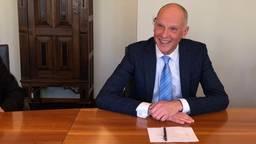 Waarnemend burgemeester Marcel Fränzel. (Foto: Rogier van Son)