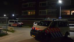 Politieonderzoek na het drama. (Foto: Alexander Vingerhoeds)