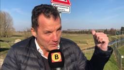 John de Bever op de Maasdijk in Wijk en Aalburg (foto: Floyd Aanen)