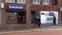Onderzoek naar de kluisjesroof in Oudenbosch. (foto: Omroep Brabant)