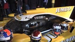 De nieuwe auto waarmee Racing Team Nederland gaat deelnemen aan de World Championship