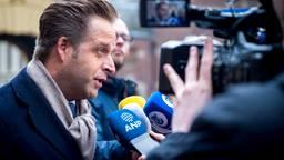 Minister Hugo de Jonge FOTO: ANP
