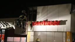 De brand ontstond in de letter B. (Foto: AS Media).