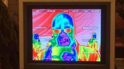 Warmtebeeldcamera van de commando's