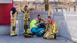 Het kind is door de brandweer bevrijd. (Foto: Sem van Rijssel/SQ Vision Mediaprodukties)