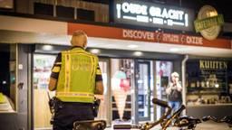 De verdachte (15) is in eerste instantie aangehouden voor de overval op cafetaria Oude Gracht. (Foto: Sem van Rijssel/SQ Vision Mediaprodukties)