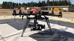 Drone van de brandweer Midden- en West-Brabant