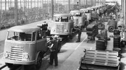 De productie van de DAF 'Zevenstreper' (foto: DAF Trucks)