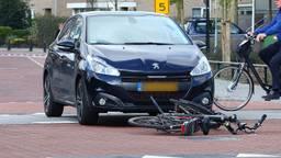 De auto raakte het tweetal op het fietspad (foto: Charles Mallo/SQ Vision Mediaprodukties)