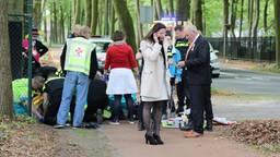 Burgemeester Hanne van Aart heeft samen met anderen een man gereanimeerd. Foto: Erik Haverhals.