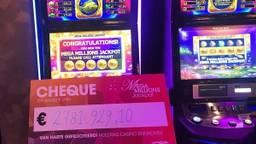 De cheque (Foto: Holland Casino).