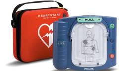 Een AED van Philips.