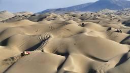 Heel veel duinen in de Dakar Rally 2019