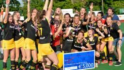 Vreugde bij Den Bosch na weer een Europese titel (Foto: Ady Kerry).