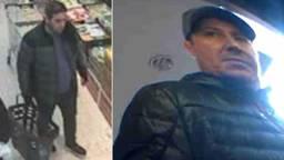 De politie is op zoek naar deze twee mannen
