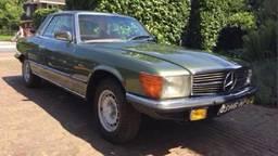 De gestolen Mercedes 280 SLC (Foto: Mark van der Schoor)