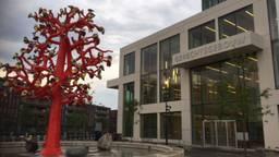 Het nieuwe gerechtsgebouw in Breda