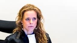 Greetje Bos als officier van justitie (foto: ANP)