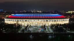 Op het dak van het Luzhniki stadion in Moskou installeerde Signify een LED-dak