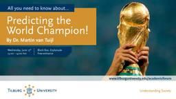 Ney mar! Een onderbouwde WK-voorspelling!