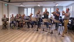 De laatste repetitie van blaasorkest De Drie Donken uit Den Dungen