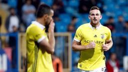 Vincent Janssen in het shirt van Fenerbahçe (foto: VI Images).