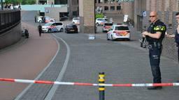 Het station in Breda werd na de bommelding ontruimd