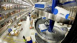 Het nieuwe distributiecentrum van Bol.com in Waalwijk.