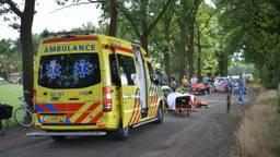 De hulpverlening in beeld na het ongeluk in Deurne (foto: Dave Hendriks/SQ Vision Mediaprodukties).
