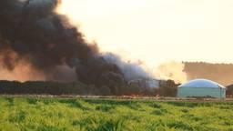 Grote brand (foto: Saskia Kusters)