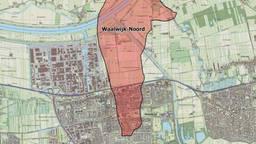 In dit deel van Waalwijk wordt gas gewonnen.