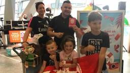 De familie Massar uit Roosendaal gaat naar Alicante.