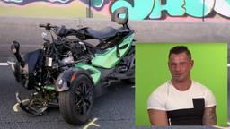 De quad was door realityster Nicky Zouwer uitgeleend. (Foto: Bart Meesters/Meesters Multi Media)