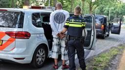 De chauffeur is aangehouden. (Foto: Toby de Kort)