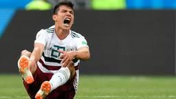 Hirving Lozano scoorde één keer op dit WK (foto: VI Images).