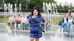 Selina Sugar tijdens Roze Maandag vorig jaar. Foto: Corne Hannink